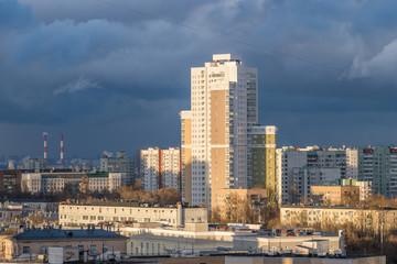 New residential buildings