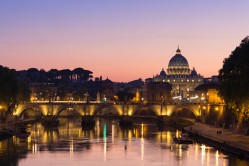 Saint Peters Basilica, Rome, Italy