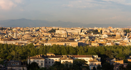 View over Rome (Rom, Roma)  Italiy