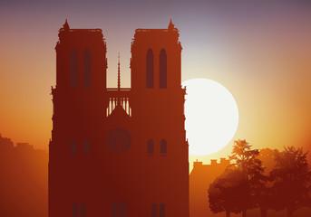 Notre dame de Paris, Cathédrale, monument, tourisme, religion, histoire