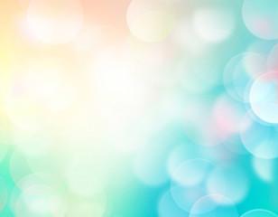 Summer resort blurred colorful background illustration.