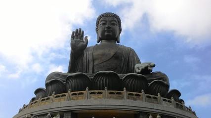 香港、寶蓮寺の天壇大仏