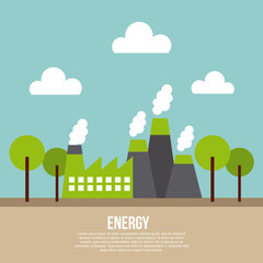 energy infographic eco friendly related image vector illustration design