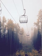 Park City Ski Lift Fall