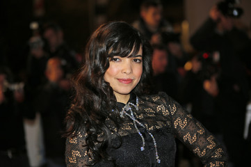 Singer Indila arrives for the NRJ Music Awards ceremony at the Festival Palace in Cannes