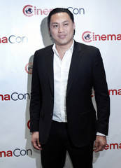Movie director Jon Chu arrives for an opening night gala during CinemaCon at Caesars Palace in Las Vegas