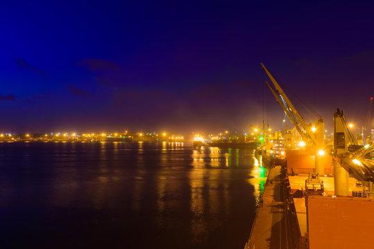 Suset in Mombasa port, Kenya