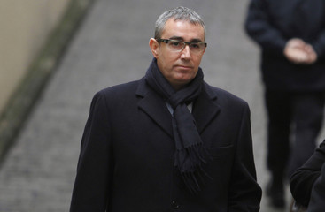 Torres arrives at court to testify before judge for case of suspected fraud embezzlement in Palma de Mallorca