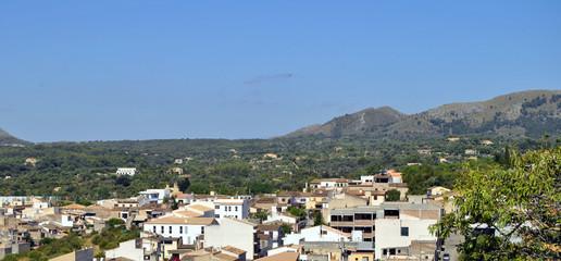 Aussicht Arta Mallorca Spanien