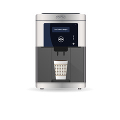 Coffee Machine. Vector illustration
