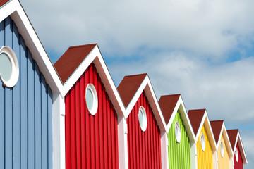 Fassade, Bunt, Langeoog