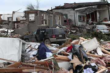Overnight tornadoes destroyed homes and vehicles in Pratt City