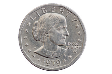 Susan B Anthony Dollar Coin