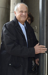 Patrice de Maistre, L'Oreal SA heiress Liliane Bettencourt's former wealth manager, arrives at the courthouse in Bordeaux