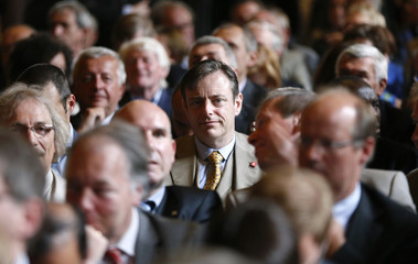 N-VA President De Wever attends celebrations marking the Flemish Community Day at Brussels' town hall