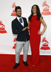 Rosa and Alvarado arrive at the 2013 Latin Recording Academy's Person of the Year event honoring singer Miguel Bose in Las Vegas