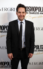 Actor Rudd arrives at the Cosmopolitan Fun Fearless Awards in New York