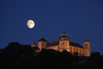 Obraz Nowy Wisnicz, Zamek. - fototapety do salonu