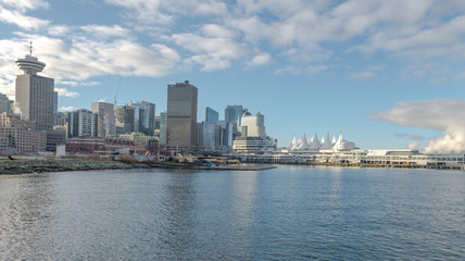 Canada Place during clear sky, Vancouver Jan 2107