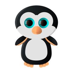 Мультипликационный пингвин