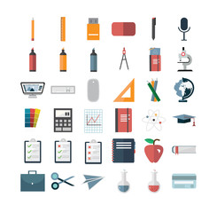 Various vector icon set