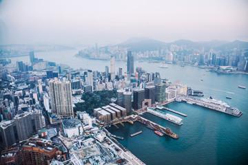 Hong Kong bird's-eye
