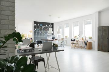 Trendy coworking space