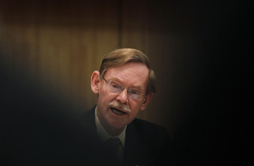 World Bank President Zoellick speaks during a news conference on the sidelines of the 10th Conference of the Parties to the Convention on Biological Diversity in Nagoya