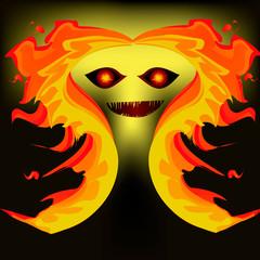 Fire monstar.