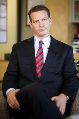 FireEye Chief Operating Officer Kevin Mandia is seen during an interview at his office in Milpitas, California