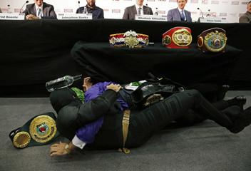 Wladimir Klitschko & Tyson Fury Head-to-Head Press Conference