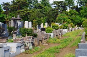 Door stickers Cemetery 新緑の霊園