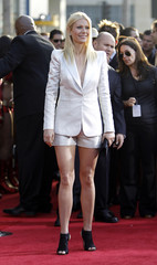 """Paltrow attends the premiere of the movie """"Iron Man 2"""" at El Capitan theatre in Hollywood"""