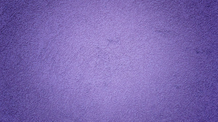 Purple wall with paint background, grunge texture
