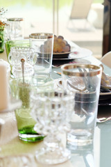 Detail  image of Elegant dining table setting