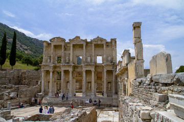 Celsus Library in Ephesus, Efes