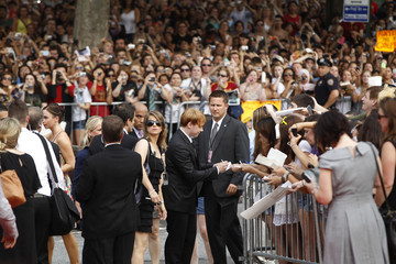 """Cast member Grint arrives for premiere of the film """"Harry Potter and the Deathly Hallows: Part 2"""" in New York"""