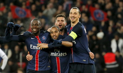 Football Soccer - Paris St Germain vs Angers - French Ligue 1