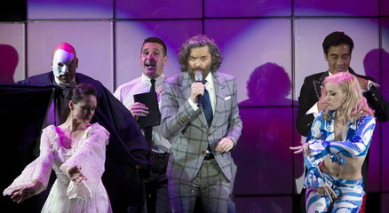 "Actor Timothy Omundson performs at the 23rd annual ""A Night at Sardi's"" benefit for the Alzheimer's Association in Beverly Hills"