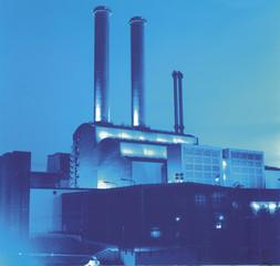 Erdgaskraftwerk Kraftwerk in Berlin