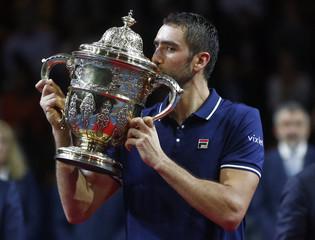 Tennis - Swiss Indoors ATP Men's Final