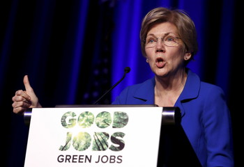 Senator Warren speaks at the BlueGreen Alliance Foundation's 2015 Good Jobs, Green Jobs Conference
