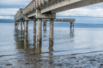 Low Tide And Pier 2