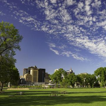 Saint Paul Skyline from Harriet Park