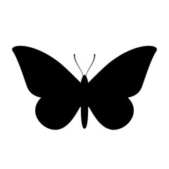 Moth vector icon