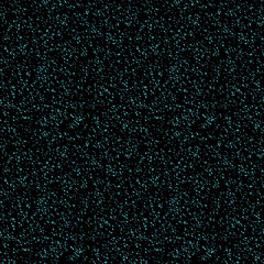 Halftone Effect. Seamless Pattern. Abstract Vector Background. Monochrome Turquoise, Black. Texture Dust, Sand, Glitter.