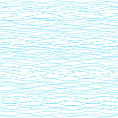 Wavy vector background. Light horizontal wave striped texture
