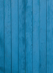 Old blue grungy boards, rustic woody background, barn, fence, barn, wooden wall