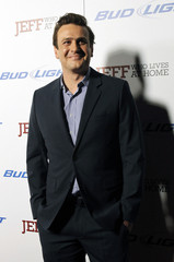 """Segel poses at the premiere of """"Jeff, Who Lives at Home"""" at the Directors Guild of America theatre in Los Angeles"""