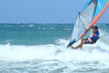 nice mail sportman windsurfer